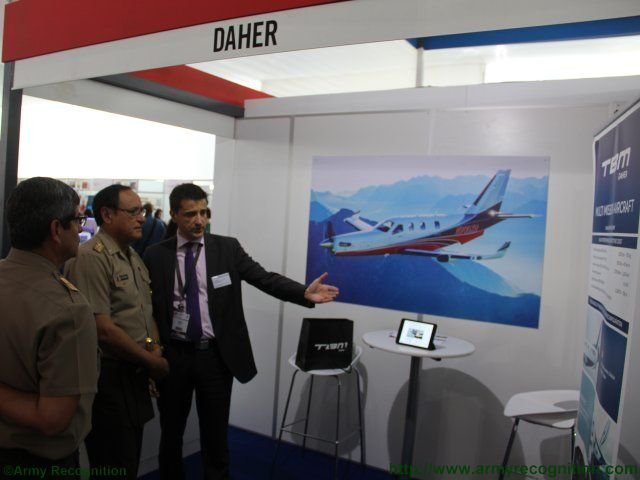 SITDEF 2015 Daher s brand new TBM900 Multi mission aircraft introduced in Lima 640 002