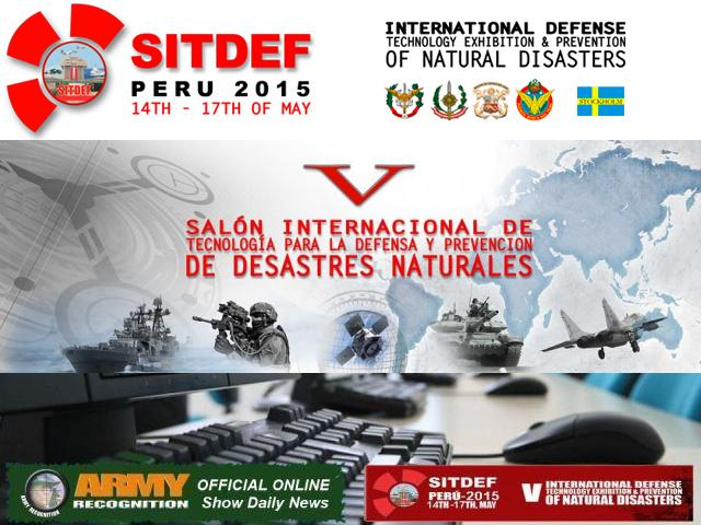 SITDEF 2015 organizers appointed Army Recognition website as Official Online Show Daily News 640 001