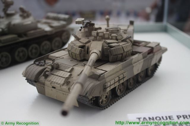 At SITDEF 20156, the Peruvian Defense Company Disenos Casanave proposes an upgraded package to modernize the Russian-made T-55 main battle tank in service with the Peruvian Army since many years.