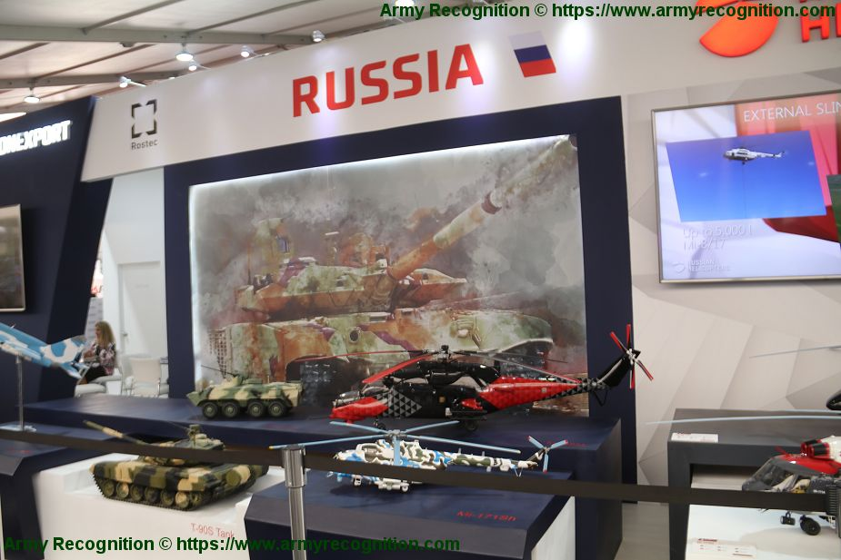 Russia continues to market defense products and weapons in South America Lima Peru SITDEF 2019 925 001