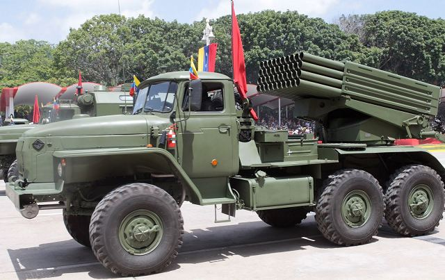 Venezuela has conducted successful tests of Russian BM-21 Grad and Smerch multiple rocket launchers, Operational Strategic Commander in Chief, General Vladimir Padrino Lopez said Tuesday, May 13, 2014.