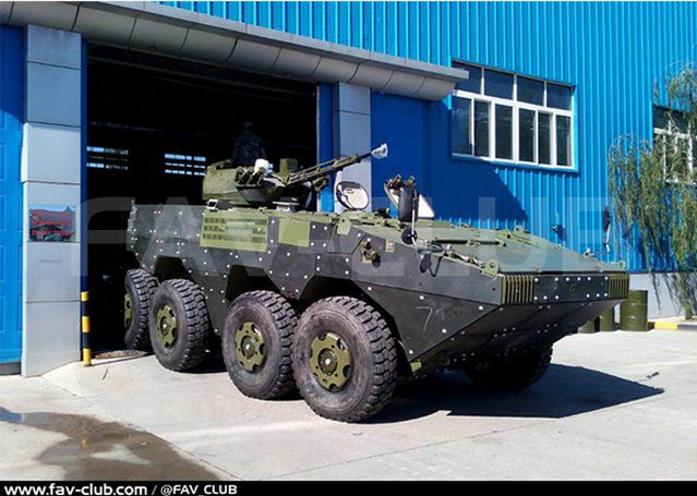 Venezuela takes delivery of Chinese-made VN-1 8x8 armoured vehicle personnel carrier (export version of Chinese ZBL-09) which will be used by the Marine Corps of Venezuela armed forces. Pictures released on the Venezuelan website http://www.fav-club.com show the first vehicle delivered to Venezuela.