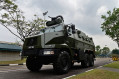 Peacekeeper PRV Protected Response Vehicle 6x6 armoured vehicle pesonnel carrier Renault Singapore army 640 001