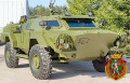 Caiman based on BRDM-2 4x4 reconnaissance armoured vehicle Belarus Belarusian defense industry 640 001