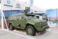 Bodgan Corporation unveiled new BARS 8 armored vehicle at IDEX 2017 640 002