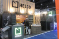 HESCO annouces at IDEX 2017 that its barriers will be manufactured in the UAE 001 UK