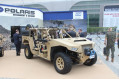 IDEX 2017 Polaris presents its DAGOR ultra light combat vehicle 640 001