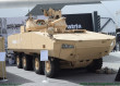 Patria introduces new AMV28A armored vehicle fitted with Kongsberg Protector turret at IDEX  2017 640 001