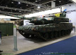 Rheinmetall of Germany shows its expertise to upgrade Leopard 2 MBT tanks as the Leopard 2 PL 640 001