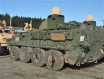 Stryker 8x8 armoured of US Army retrofitted with new tactical communication network system 640 001