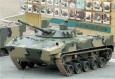 The Russian Company Kurganmashzavod enterprise presented trial models of BT-3F armored personnel carrier on the basis of BMP-3, infantry fighting vehicle BMP-3M Dragoon and airborne assault vehicle BMD-4M with Sinitsa combat module named BMD-4M2, the press service of the Tractor plants Concern said.