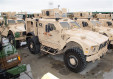 New version of M-ATV 4x4 MRAP vehicle upgraded by the US Marines Depot Maintenance 640 001