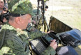 Russian Southern Military District used Strelets control and communications system during drills 640 001